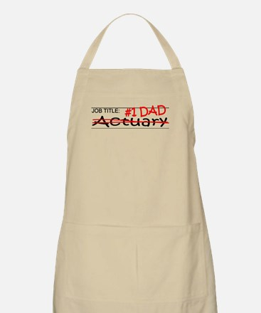 Job Dad Actuary Apron