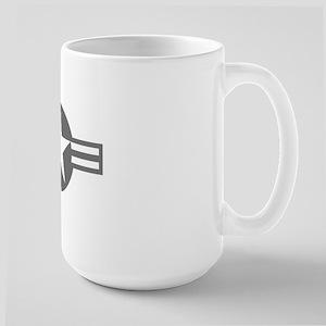 US Mil Aircraft Flash Large Mug