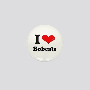 I love bobcats Mini Button