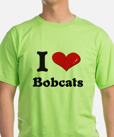 I love bobcats T-Shirt