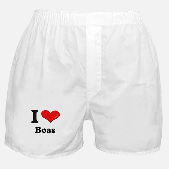 I love boas  Boxer Shorts