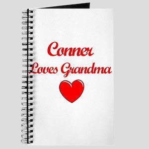 Conner Loves Grandma Journal