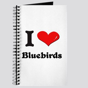 I love bluebirds Journal