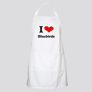 I love bluebirds  BBQ Apron