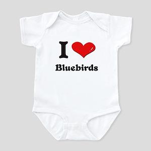 I love bluebirds  Infant Bodysuit