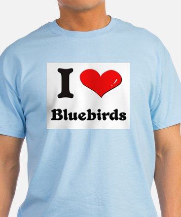 I love bluebirds T-Shirt