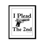 Plead the 2nd Framed Panel Print