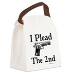 Plead the 2nd Canvas Lunch Bag