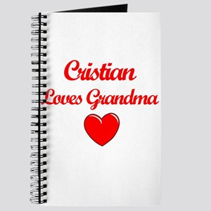 Cristian Loves Grandma Journal