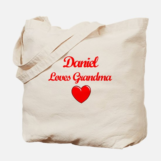 Daniel Loves Grandma Tote Bag