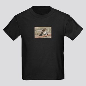 Red-Tailed Hawk Ruffling Feathers T-Shirt