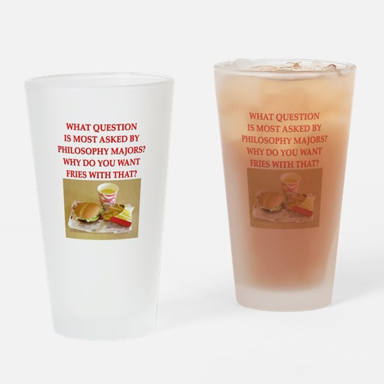 FRIES Drinking Glass