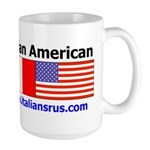 Italian American Large Mug