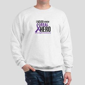 Cystic Fibrosis Real Hero 2 Sweatshirt