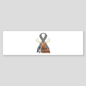 Aphasia Bumper Sticker