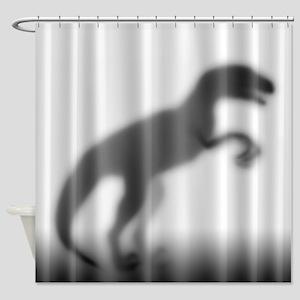 Raptor Silhouette Shower Curtain