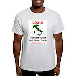 Lazio Ash Grey T-Shirt