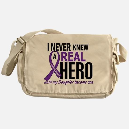 Cystic Fibrosis Real Hero 2 Messenger Bag