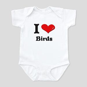 I love birds  Infant Bodysuit