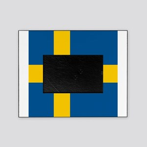 Flag of Sweden Picture Frame