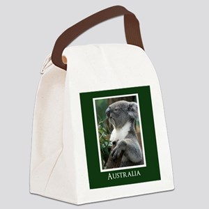 Koala Bear Australian Souvenir Canvas Lunch Bag