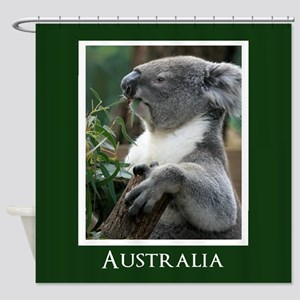 Koala Bear Australian Souvenir Shower Curtain