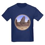 Vancouver Gastown Souvenir Kids Dark T-Shirt