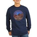 Vancouver Gastown Souveni Long Sleeve Dark T-Shirt