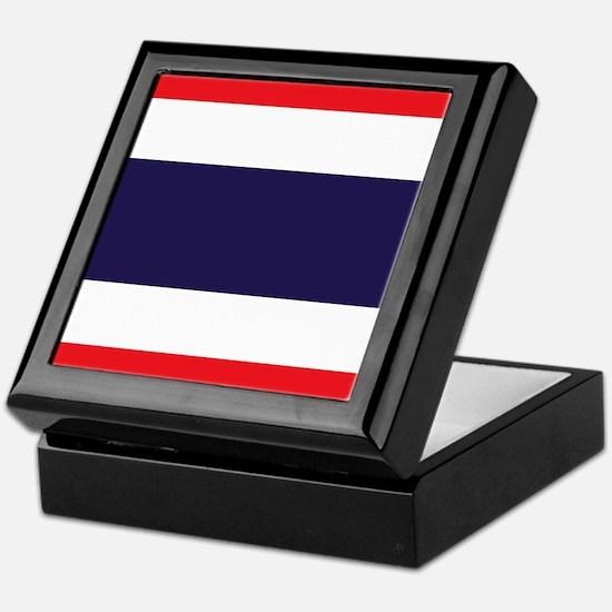Flag of Thailand Keepsake Box