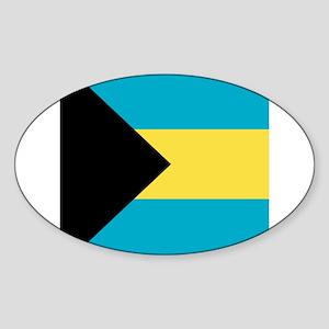 Flag of the Bahamas Sticker