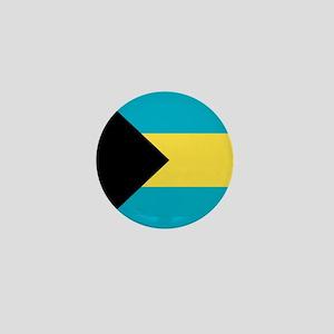 Flag of the Bahamas Mini Button