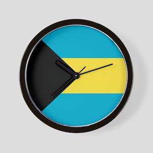 Flag of the Bahamas Wall Clock