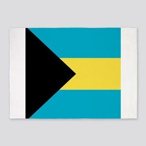 Flag of the Bahamas 5'x7'Area Rug