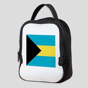 Flag of the Bahamas Neoprene Lunch Bag