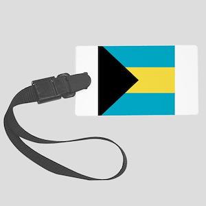 Flag of the Bahamas Large Luggage Tag