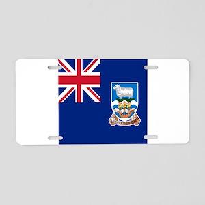Flag of the Falkland Islands Aluminum License Plat