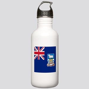 Flag of the Falkland Islands Sports Water Bottle
