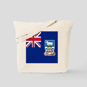 Flag of the Falkland Islands Tote Bag