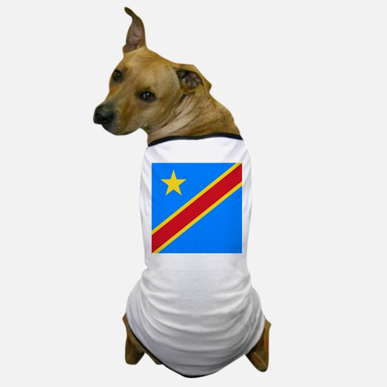 Flag of Congo Dog T-Shirt