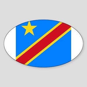 Flag of Congo Sticker