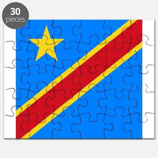 Flag of Congo Puzzle