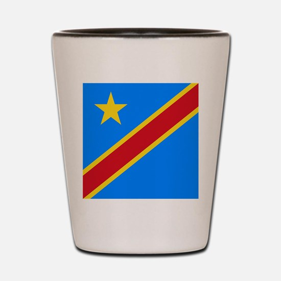Flag of Congo Shot Glass