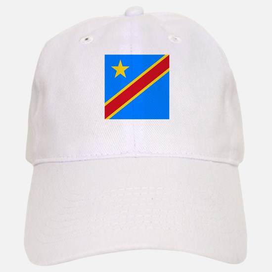 Flag of Congo Baseball Baseball Cap