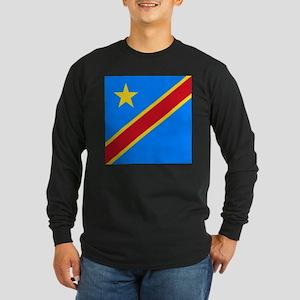 Flag of Congo Long Sleeve T-Shirt