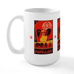 Obey the Papillon! Large Mug