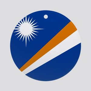 Flag of the Marshall Islands Ornament (Round)