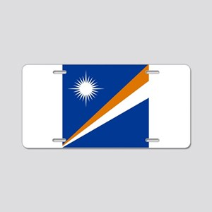 Flag of the Marshall Islands Aluminum License Plat