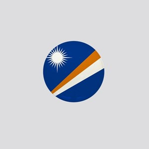 Flag of the Marshall Islands Mini Button