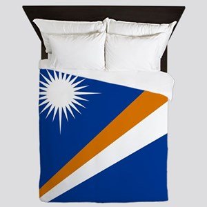 Flag of the Marshall Islands Queen Duvet