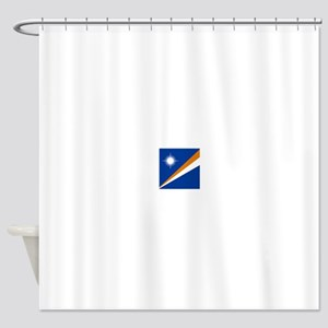 Flag of the Marshall Islands Shower Curtain